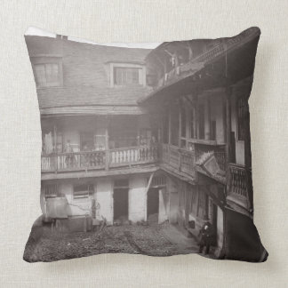 Los brazos de Oxford en el carril de Warwick 1875 Cojin