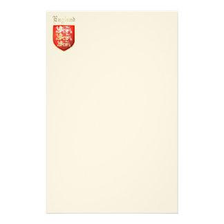 Los brazos reales de Inglaterra Personalized Stationery