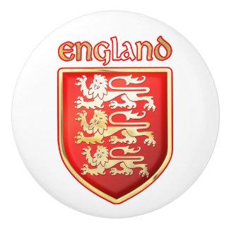 Los brazos reales de Inglaterra Pomo De Cerámica
