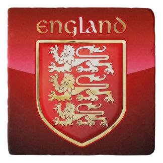 Los brazos reales de Inglaterra Salvamanteles