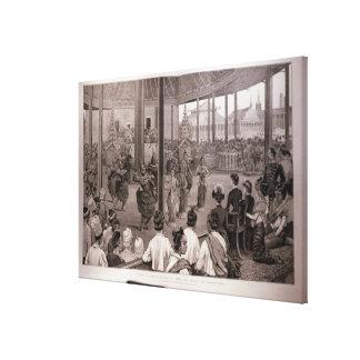 Los Británicos en Burmah Impresión En Lona