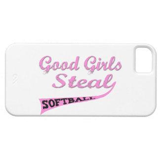 Los buenos chicas roban (urbanos rosados) iPhone 5 Case-Mate protectores