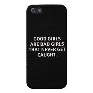 Los buenos chicas son malos chicas. Caso iPhone 5 Carcasa