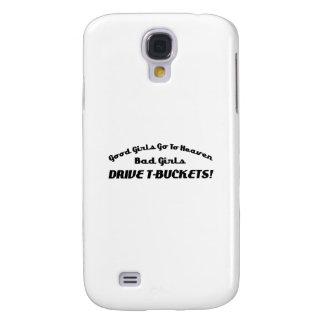 Los buenos chicas van a la mala impulsión Tbuckets Funda Para Galaxy S4