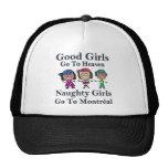 Los buenos chicas van al cielo que van los chicas  gorra