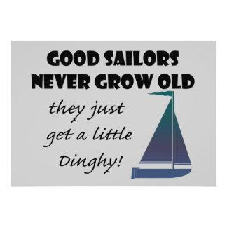Los buenos marineros nunca crecen viejos, cojinete