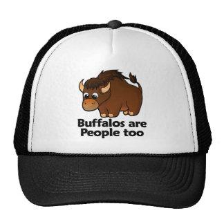 Los búfalos son gente también gorro de camionero