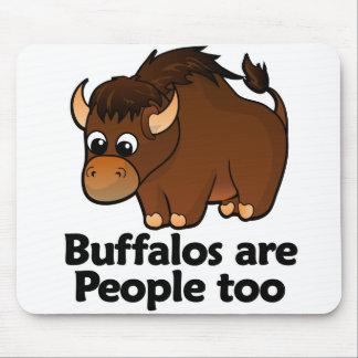 Los búfalos son gente también tapete de ratón