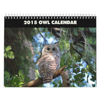 Los búhos hacen calendarios 2015