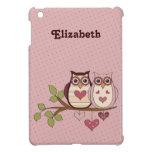 Los búhos rosados de Sweethoot modificaron el mini iPad Mini Carcasa