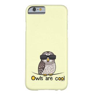 Los búhos son frescos funda de iPhone 6 barely there