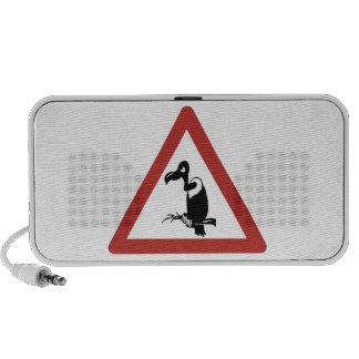 Los buitres de la precaución, trafican la señal de iPhone altavoz