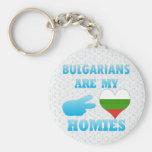 Los búlgaros son mi Homies Llavero Personalizado