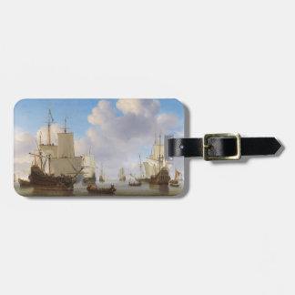 Los buques de guerra holandeses y el otro envío en etiquetas bolsa