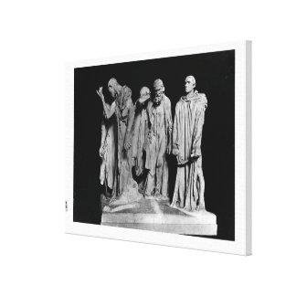 Los Burghers de Calais, 1889 Impresiones De Lienzo