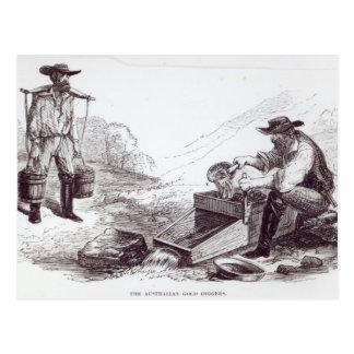 Los buscadores de oro australianos postales