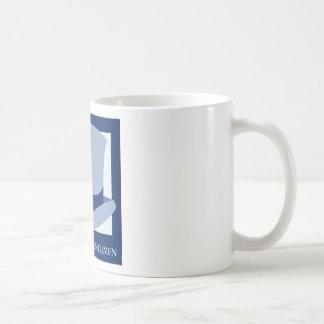 Los caballeros casuales taza de café