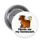 Los caballos comieron mi preparación pin