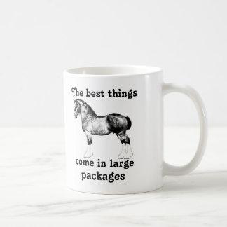 Los caballos de condado son la mejor taza