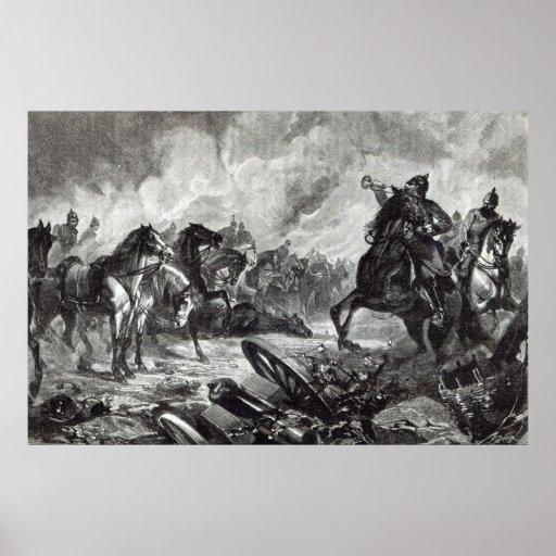 Los caballos de Gravelotte Póster