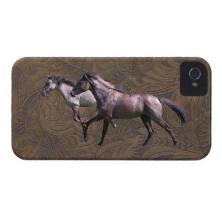 Los caballos del mustango equiparon la caja del iP iPhone 4 Carcasa