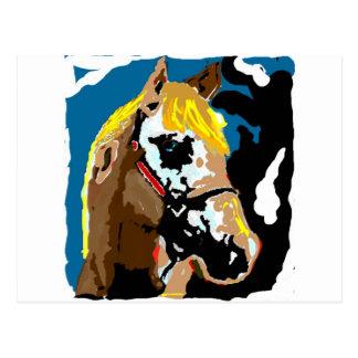 Los caballos llenan nuestras vidas de color postales