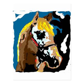 Los caballos llenan nuestras vidas de color tarjetas postales