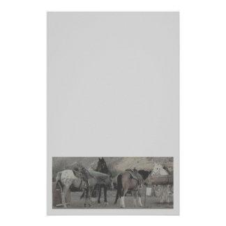 los caballos papeleria