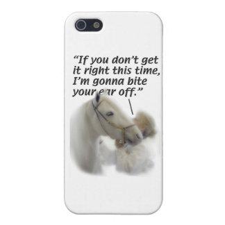 Los caballos - Paso Fino - muerden su oído iPhone 5 Carcasa