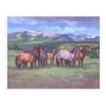 Los caballos salvajes de Oregon Postal