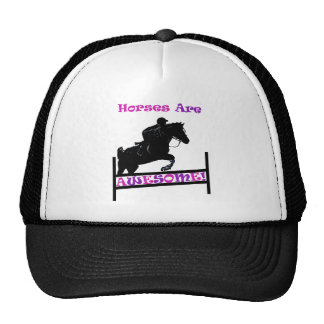 Los caballos son impresionantes gorro
