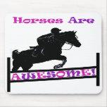 Los caballos son impresionantes alfombrilla de raton