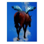 Los caballos tienen ángeles postal