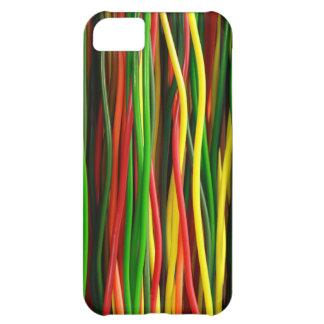 Los cables del arco iris - caliéntese funda para iPhone 5C