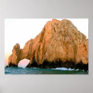 Los Cabos Los Arcos Poster