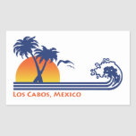 Los Cabos México Pegatina Rectangular