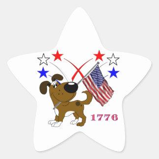 Los Cachorros Star Sticker