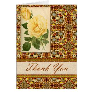 Los caleidoscopios y los rosas le agradecen cardar tarjeta de felicitación