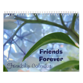 Los calendarios comienzan a cualquier amigo de los