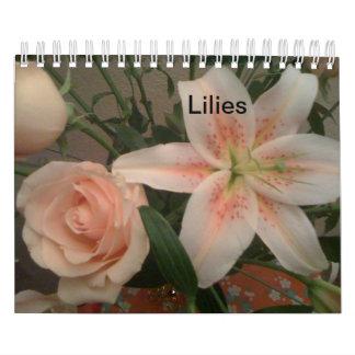 Los calendarios de Casey - lirios