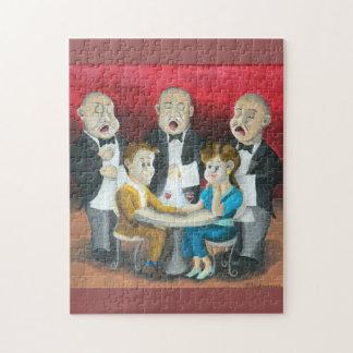 Los camareros cantantes puzzle