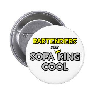 Los camareros son rey Cool del sofá Pin Redondo 5 Cm