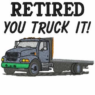 Los camioneros bordaron la camisa