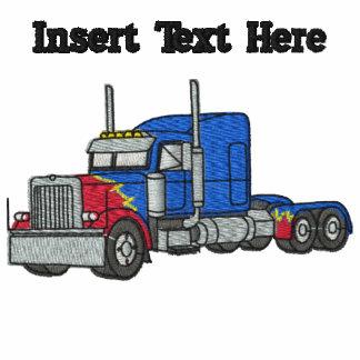 Los camioneros de encargo bordaron la camisa