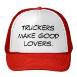Los camioneros hacen a buenos amantes gorra