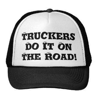 Los camioneros lo hacen gorra