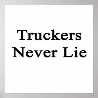 Los camioneros nunca mienten impresiones