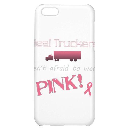 Los camioneros reales llevan el rosa - cáncer de p