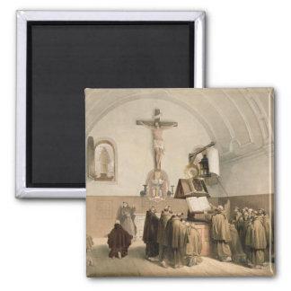Los campaneros de Bell en el oratorio del Capucine Imanes De Nevera