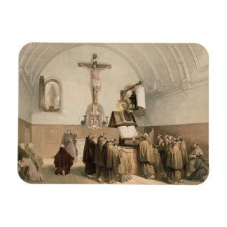 Los campaneros de Bell en el oratorio del Capucine Imán De Vinilo